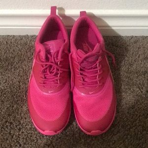 Hot Pink Nike Tennis Shoes